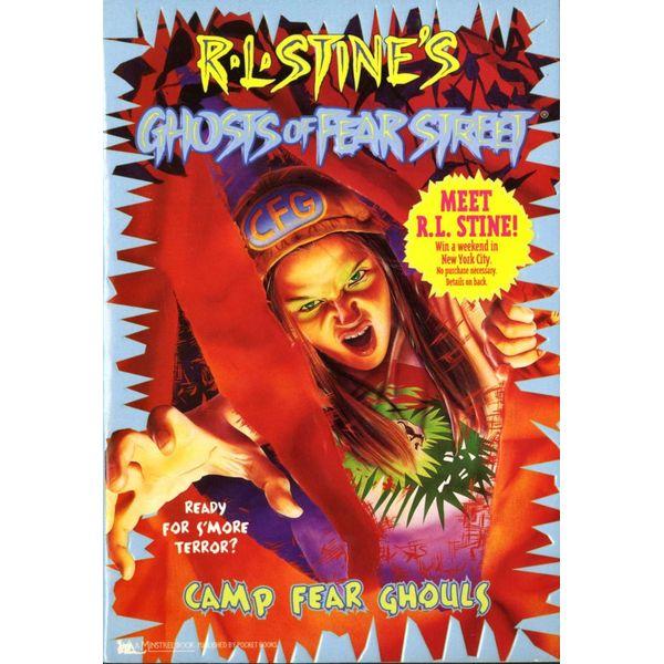 Camp Fear Ghouls - R.L. Stine   Karta-nauczyciela.org