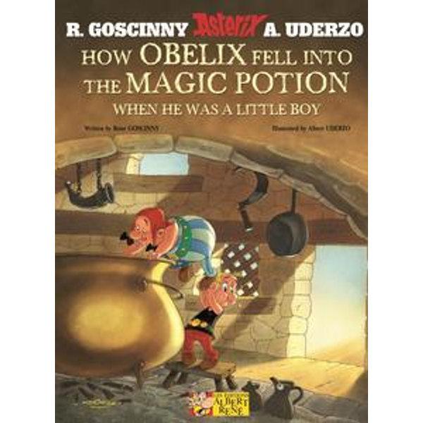How Obelix Fell Into The Magic Potion - René Goscinny, Albert Uderzo (Illustrator) | 2020-eala-conference.org