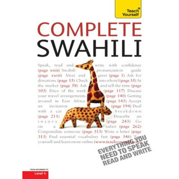 Complete Swahili Beginner to Intermediate Course - Joan Russell   Karta-nauczyciela.org