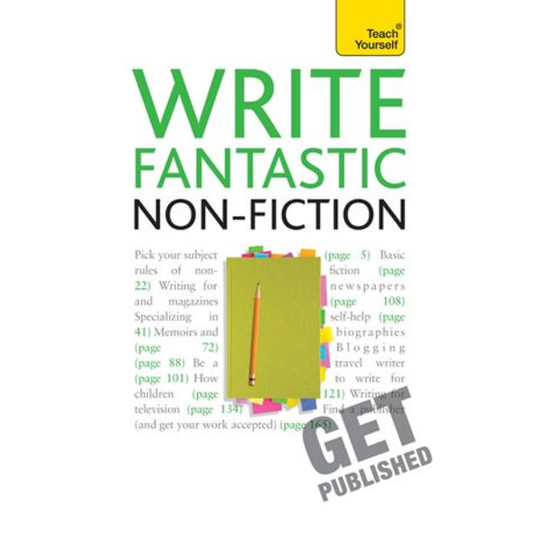 Write Fantastic Non-fiction - and Get it Published - Claire Gillman | Karta-nauczyciela.org
