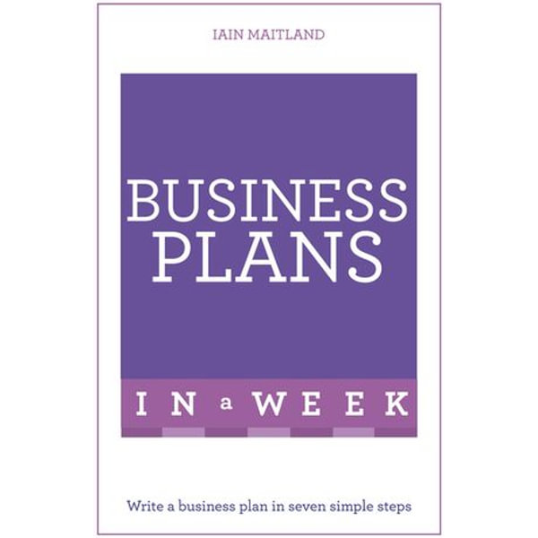 Business Plans in a Week - Iain Maitland | 2020-eala-conference.org