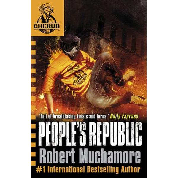 CHERUB: People's Republic - Robert Muchamore | Karta-nauczyciela.org