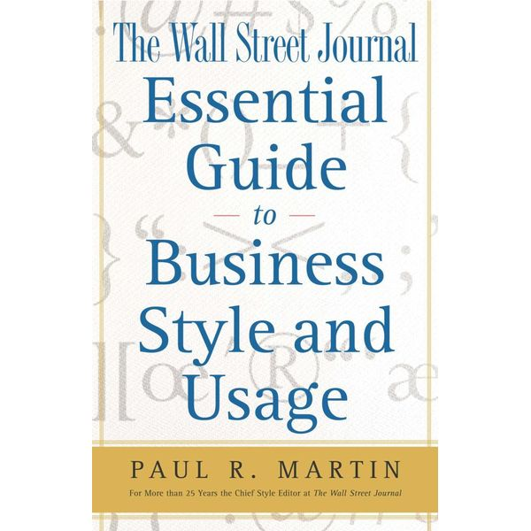 The Wall Street Journal Essential Guide to Business St - Paul Martin   Karta-nauczyciela.org