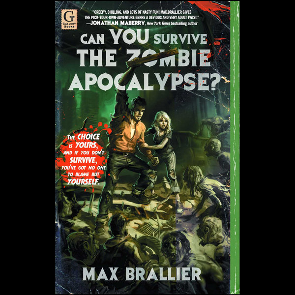 Can You Survive the Zombie Apocalypse? - Max Brallier | Karta-nauczyciela.org