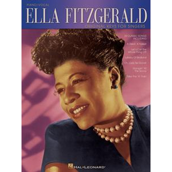 Ella Fitzgerald - Original Keys for Singers (Songbook) - Ella Fitzgerald | 2020-eala-conference.org