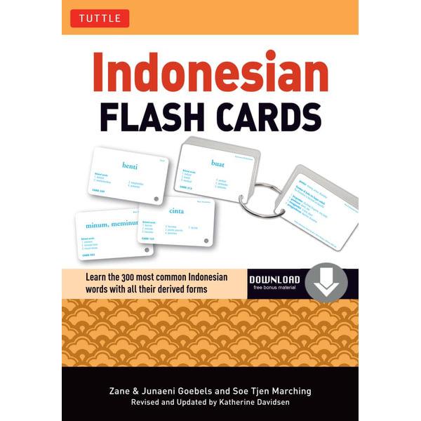 Indonesian Flash Cards - Zane Goebel, Junaeni Goebel, Soe Tjen Marching   2020-eala-conference.org