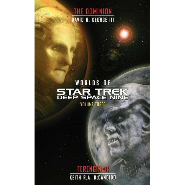 Worlds of Deep Space Nine 3 - David R. George III, Keith R. A. DeCandido   Karta-nauczyciela.org
