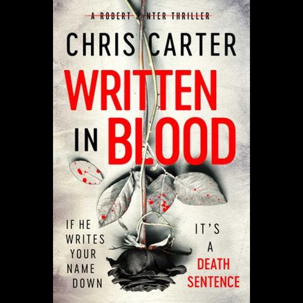 Written in Blood - Chris Carter | Karta-nauczyciela.org