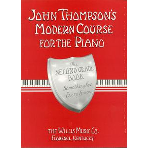 John Thompson's Modern Course for the Piano - Second Grade (Book Only) - John Thompson | 2020-eala-conference.org
