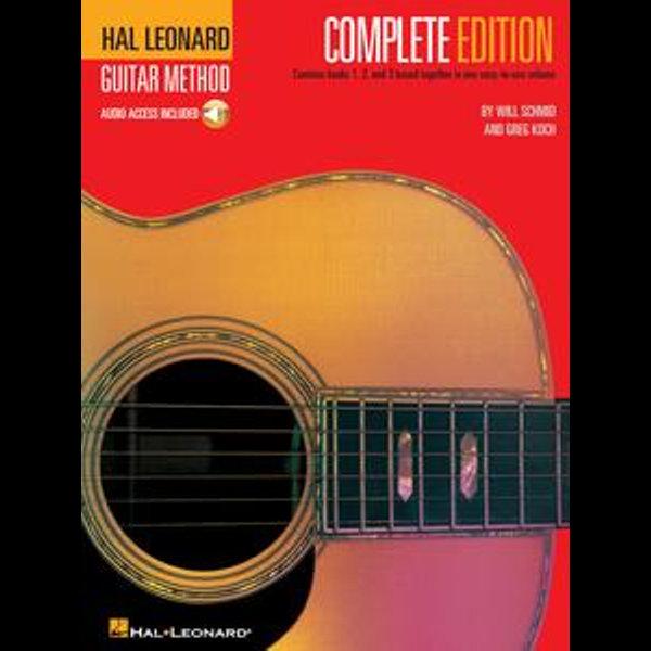 Hal Leonard Guitar Method, - Complete Edition - Will Schmid, Greg Koch   Karta-nauczyciela.org