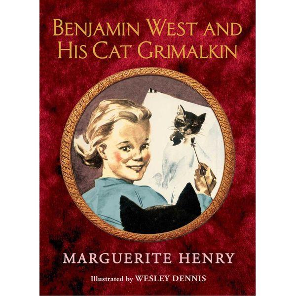 Benjamin West and His Cat Grimalkin - Marguerite Henry, Wesley Dennis (Illustrator)   Karta-nauczyciela.org