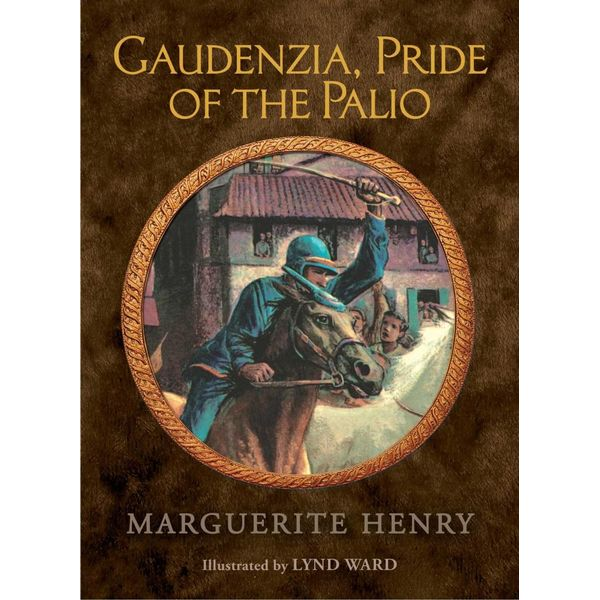 Gaudenzia, Pride of the Palio - Marguerite Henry, Lynd Ward (Illustrator)   Karta-nauczyciela.org