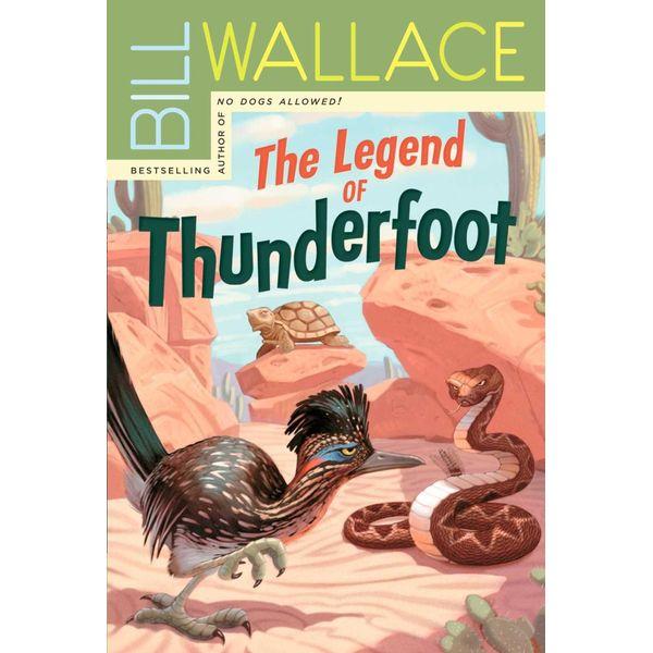 The Legend of Thunderfoot - Bill Wallace | Karta-nauczyciela.org