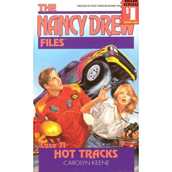 Hot Tracks - Carolyn Keene   Karta-nauczyciela.org