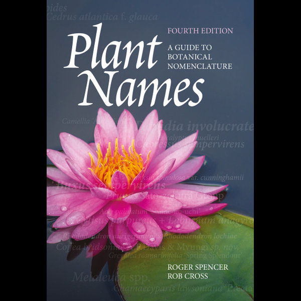 Plant Names - Roger Spencer, Rob Cross   2020-eala-conference.org