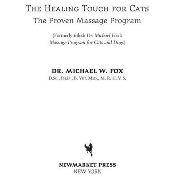 Healing Touch for Cats - Dr. Michael W. Fox   Karta-nauczyciela.org