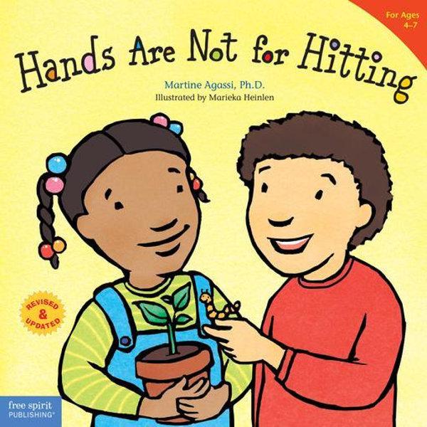 Hands Are Not for Hitting - Marieka Heinlen (Illustrator)   Karta-nauczyciela.org