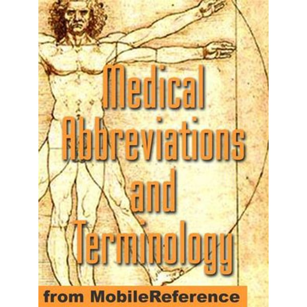 Medical Abbreviations And Terminology (Mobi Medical) - MobileReference   Karta-nauczyciela.org