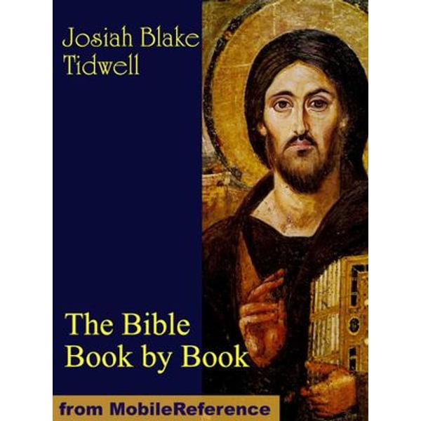 The Bible Book by Book - Josiah Blake Tidwell | Karta-nauczyciela.org