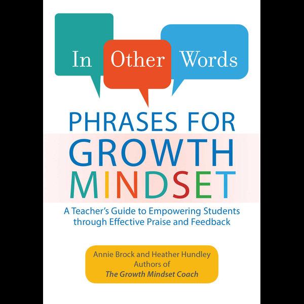 In Other Words: Phrases for Growth Mindset - Annie Brock, Heather Hundley | Karta-nauczyciela.org