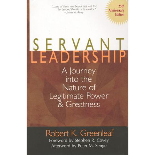 Servant Leadership [25th Anniversary Edition] - Robert K. Greenleaf   2020-eala-conference.org
