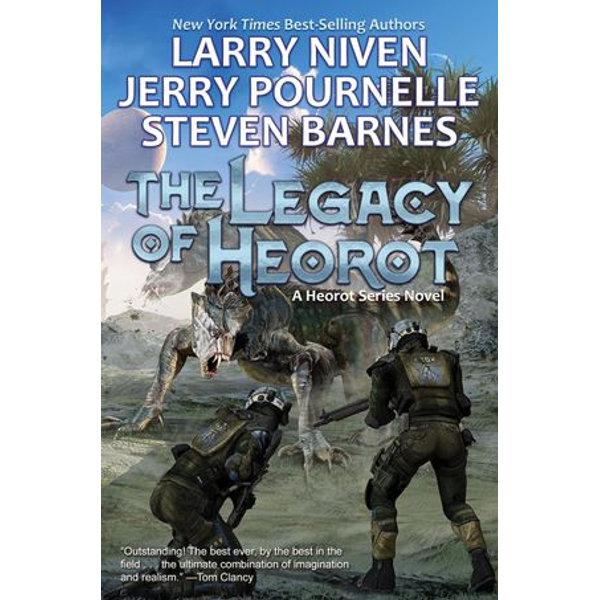 The Legacy of Heorot - Larry Niven, Jerry Pournelle, Steven Barnes   Karta-nauczyciela.org