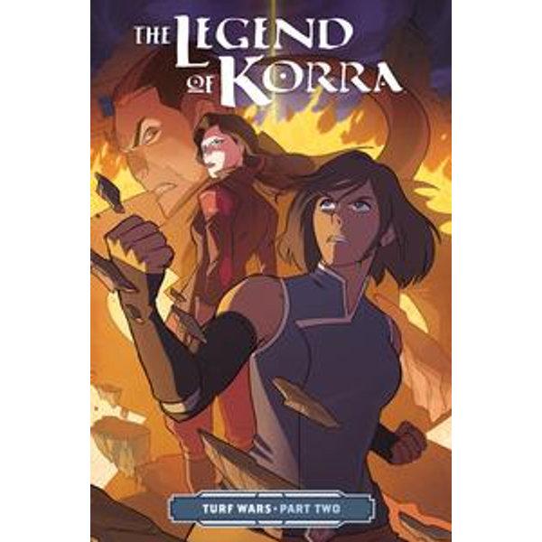 The Legend of Korra Turf Wars Part Two - Michael Dante DiMartino, Irene Koh (Illustrator) | Karta-nauczyciela.org
