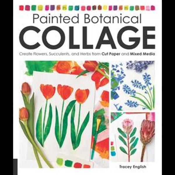 Painted Botanical Collage - Tracey English   Karta-nauczyciela.org