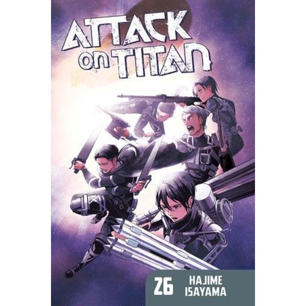 Attack on Titan 26 - Hajime Isayama | Karta-nauczyciela.org