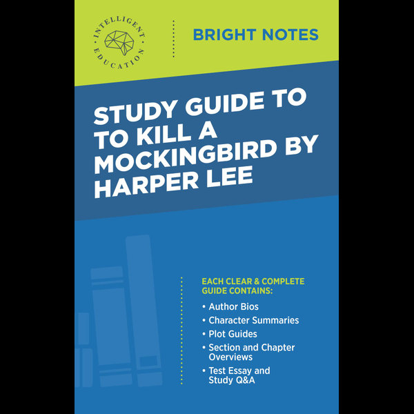 Study Guide to To Kill a Mockingbird by Harper Lee - Intelligent Education | Karta-nauczyciela.org