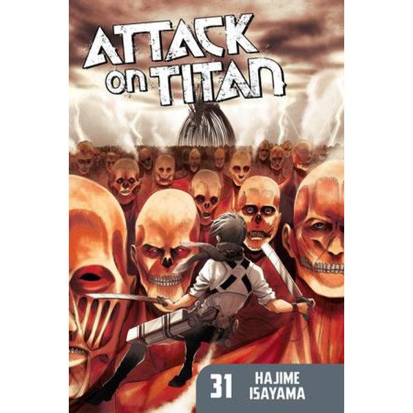 Attack on Titan 31 - Hajime Isayama | Karta-nauczyciela.org