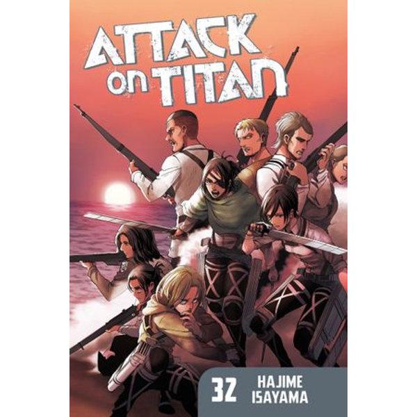 Attack on Titan 32 - Hajime Isayama   Karta-nauczyciela.org