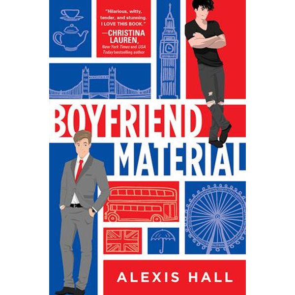 Boyfriend Material - Alexis Hall   Karta-nauczyciela.org