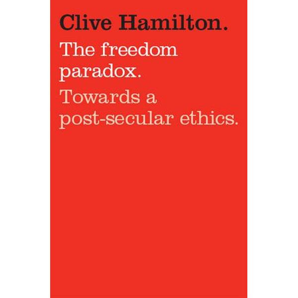 Freedom Paradox - Clive Hamilton   Karta-nauczyciela.org