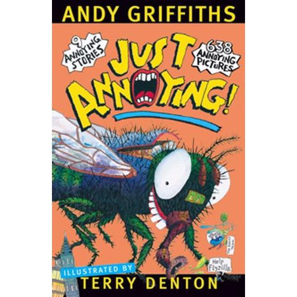 Just Annoying! - Andy Griffiths, Terry Denton (Illustrator)   Karta-nauczyciela.org