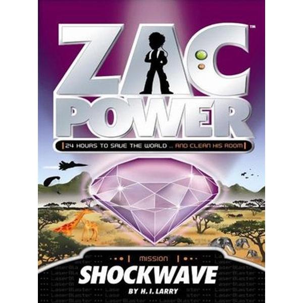 Zac Power - H. I. Larry | Karta-nauczyciela.org