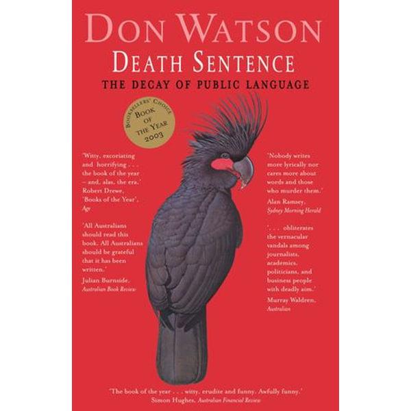 Death Sentence - Don Watson | Karta-nauczyciela.org