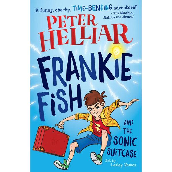 Frankie Fish and the Sonic Suitcase - Helliar, Peter, Vamos (Illustrator), Lesley (Illustrator) | Karta-nauczyciela.org