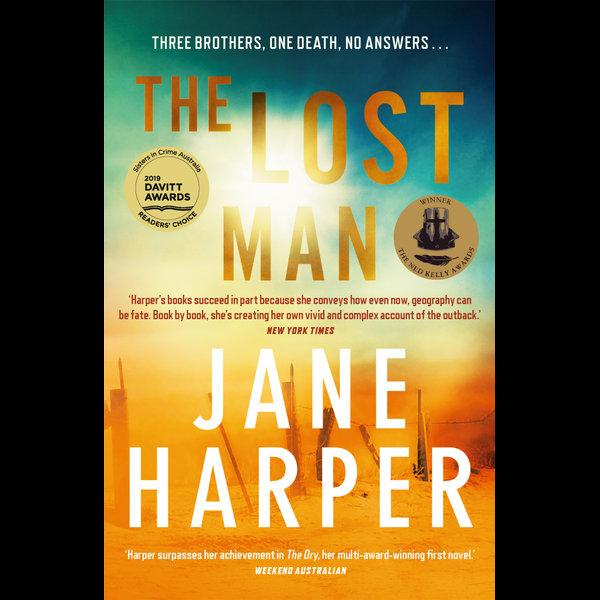 The Lost Man - Jane Harper   Karta-nauczyciela.org