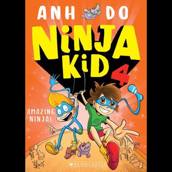 Amazing Ninja - Anh Do, Anton Emdin (Illustrator) | Karta-nauczyciela.org