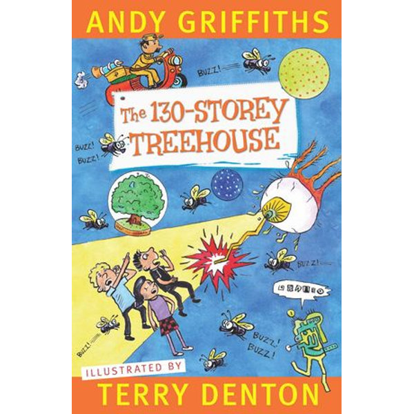 The 130-Storey Treehouse - Andy Griffiths, Terry Denton | Karta-nauczyciela.org