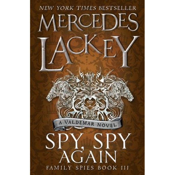 Spy, Spy Again (Family Spies #3) - Mercedes Lackey   Karta-nauczyciela.org