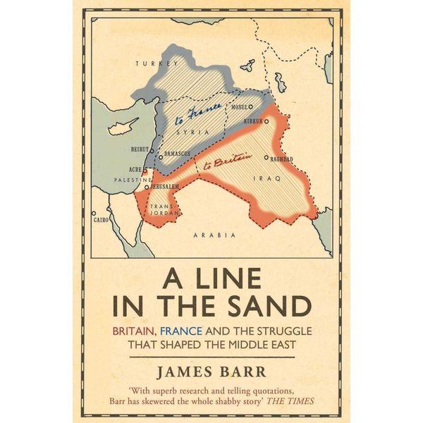 A Line in the Sand - James Barr   Karta-nauczyciela.org
