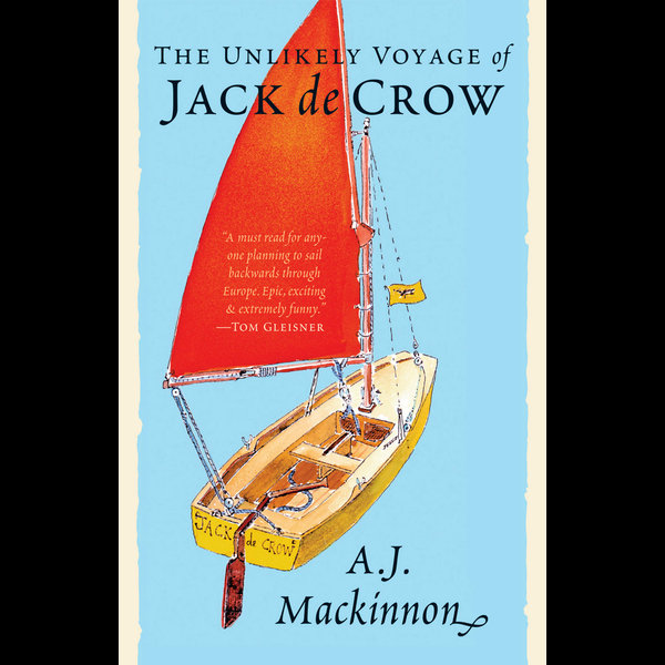 The Unlikely Voyage of Jack de Crow - A. J. Mackinnon   Karta-nauczyciela.org
