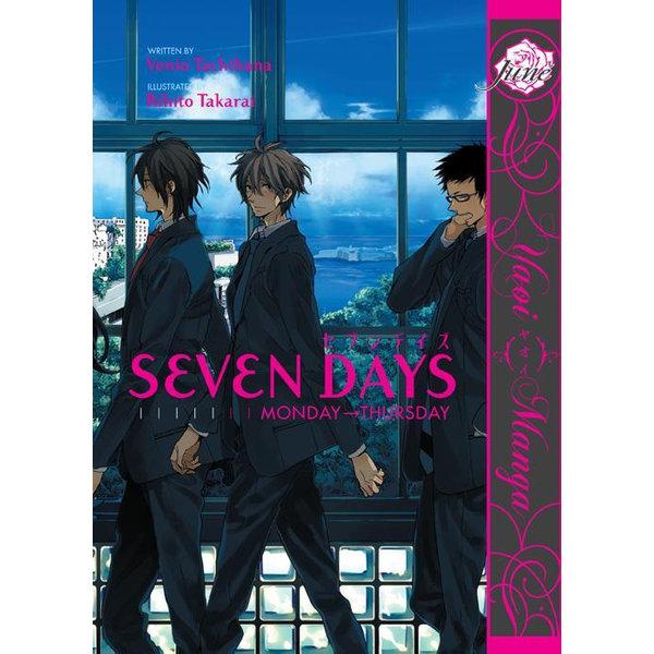 Seven Days (Yaoi Manga) - Venio Tachibana, Rihito Takarai   Karta-nauczyciela.org
