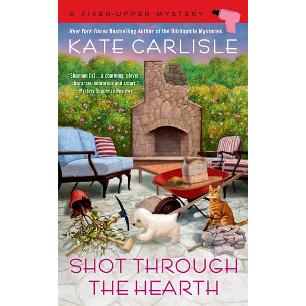 Shot Through the Hearth - Kate Carlisle   Karta-nauczyciela.org