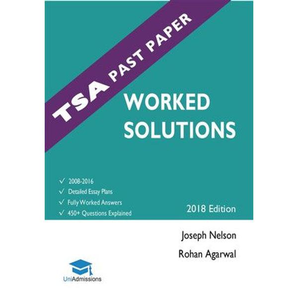 TSA Past Papers Worked Solutions - Rohan Agarwal, Joseph Nelson   Karta-nauczyciela.org
