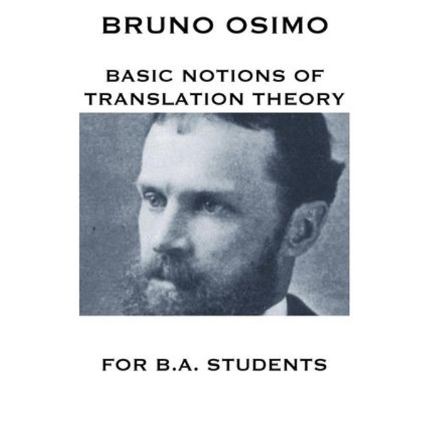 Basic notions of Translation Theory - Bruno Osimo   Karta-nauczyciela.org