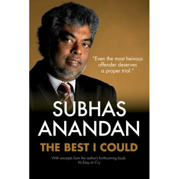The Best I Could - New Cover - Subhas Anandan | Karta-nauczyciela.org