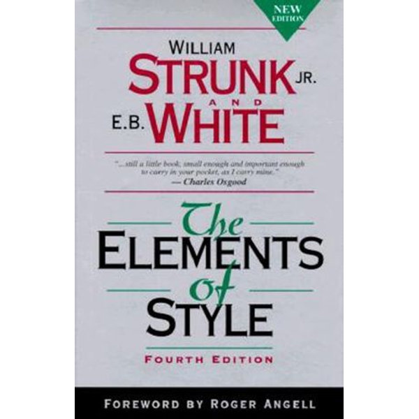 The Elements of Style, Fourth Edition -  | 2020-eala-conference.org